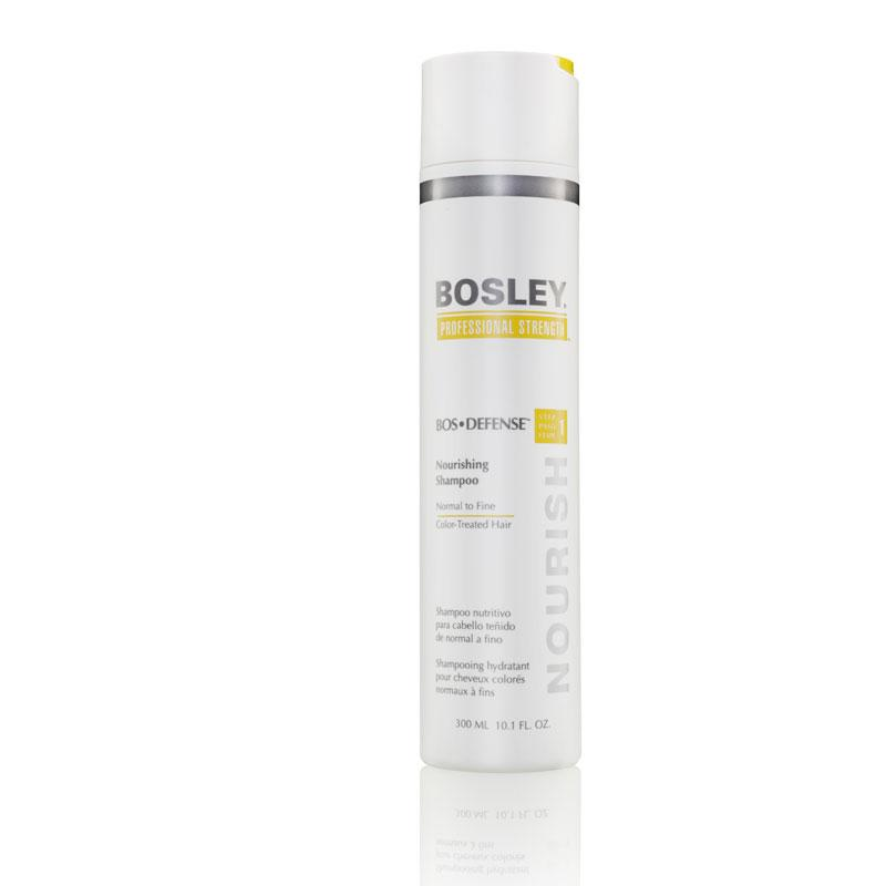 Shampoo per capelli da normali a fini - Shampoo 1 defend bosley color-treated hair