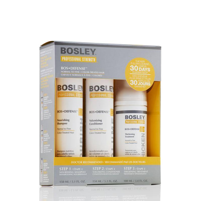 Bosley defend starter pack - color treated hair - capelli normali