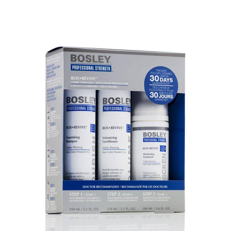 Bosley revive kit per capelli diradati
